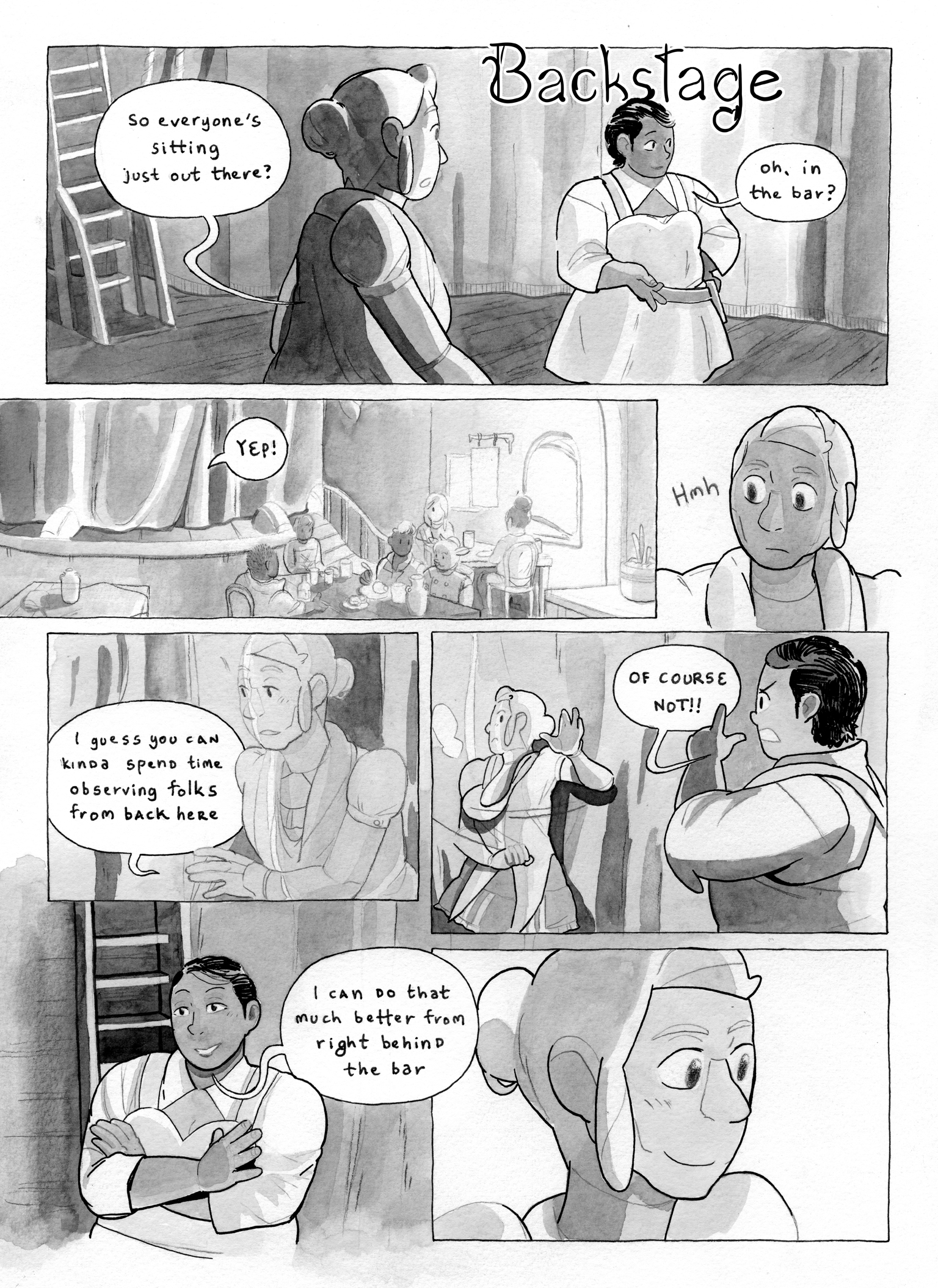 Comic page  posted